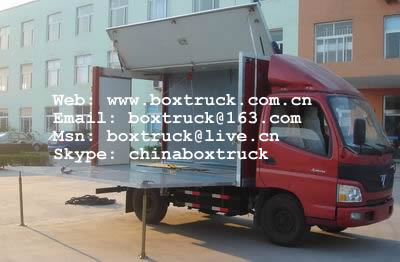 Mobile stage truck , Led screen stage truck